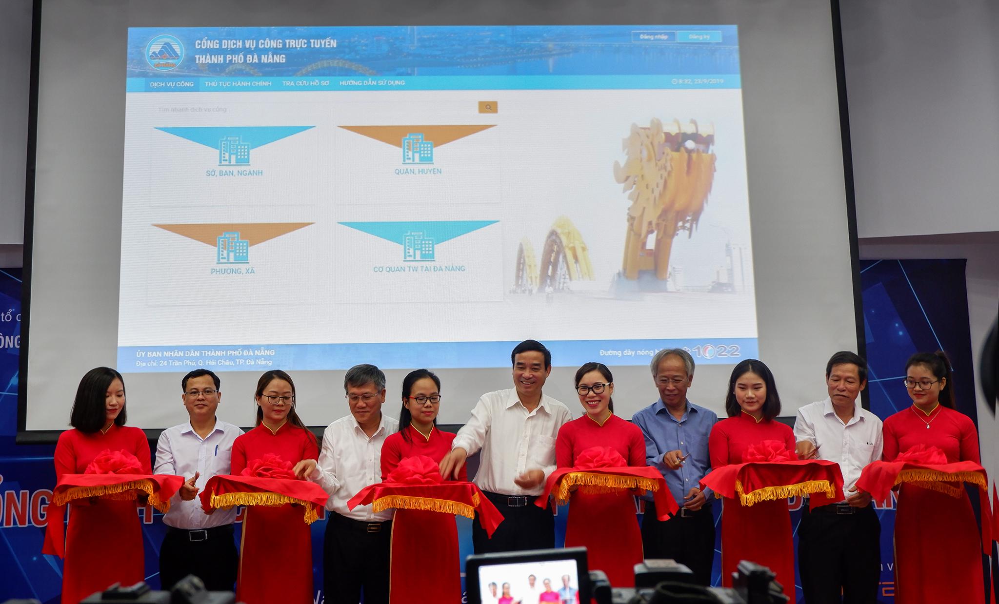 Hội nghị Công bố và đưa vào sử dụng Cổng dịch vụ công trực tuyến Tp Đà Nẵng