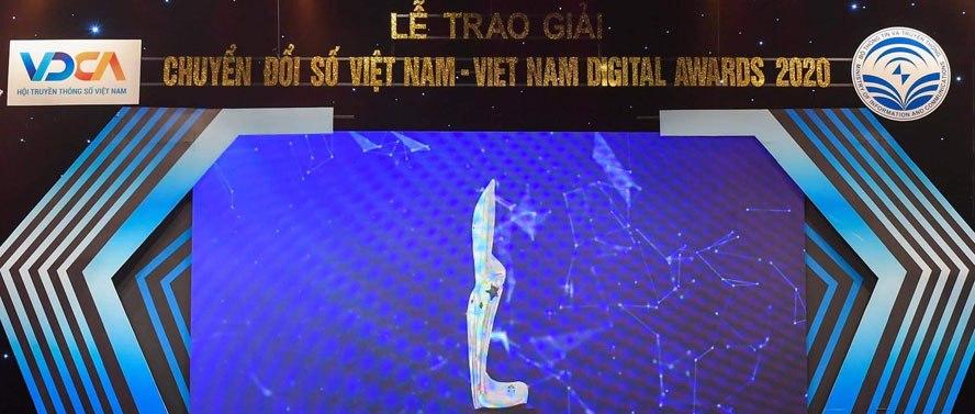 Unitech nhận giải thưởng Chuyển đổi số Việt Nam 2020